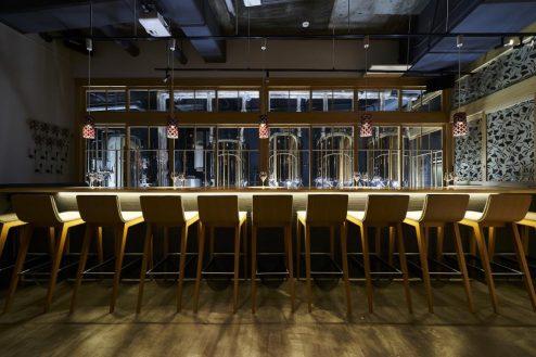 3.東海道ビール川崎宿工場|カウンター全景