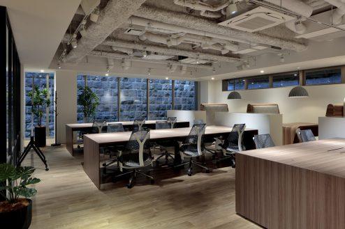 5.+SHIFT NOGIZAKA|1F:オフィスルーム