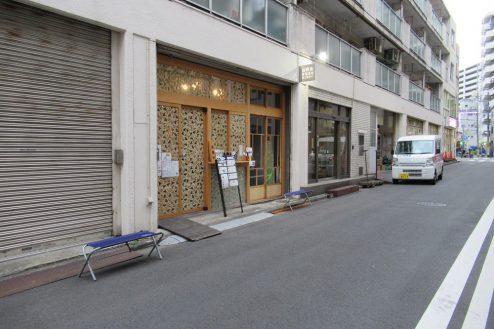 6.東海道ビール川崎宿工場|店舗前道路
