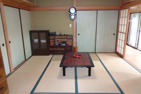 18.練馬・一軒家スタジオ 1F:和室