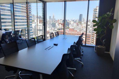 7.株式会社GOOYA 会議室から見た外の風景。見晴らし良好です
