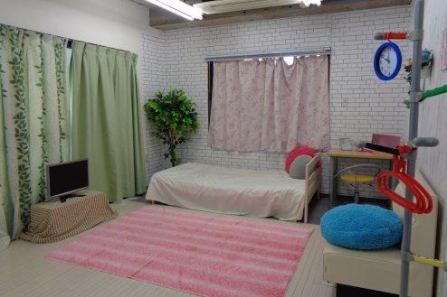 2.高輪マンションスタジオ 7F:女の子部屋仕様