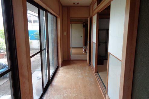 13.練馬・一軒家スタジオ 廊下