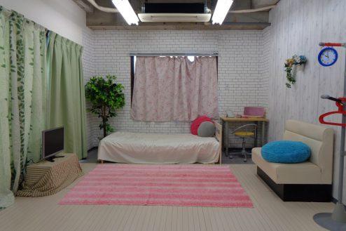 1.高輪マンションスタジオ 7F:女の子部屋仕様