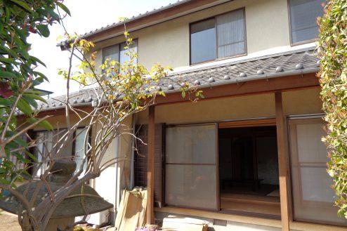 26.練馬・一軒家スタジオ 外観(庭側)