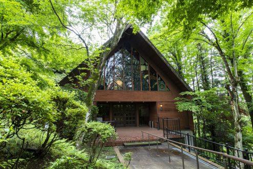 28.リソルの森|森のホール外観