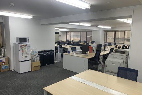 2.ネガティブ撮影OK なんでもオフィス|部屋の隅から隅まで見渡せ、実際以上に広く感じます