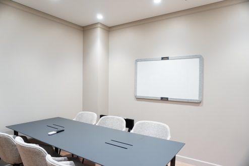 8.+SHIFT KANDA 1F:6名用会議室(入口からの撮影)