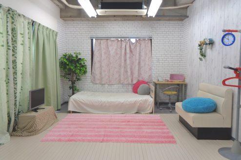 2.高輪マンションスタジオ|7F:女の子部屋仕様