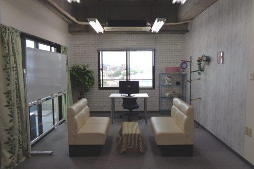 3.高輪マンションスタジオ|7F:オフィス仕様