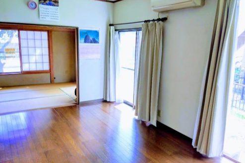 2.横浜市旭区ハウススタジオ ダイニングキッチン・和室