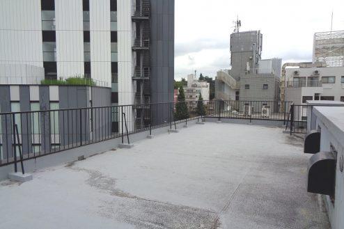 10.千駄ヶ谷・屋上|屋上