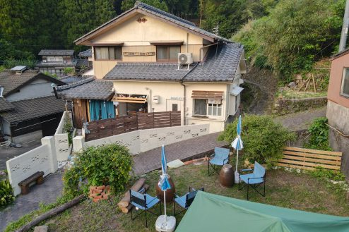 basecamp伊万里|カフェ・ロッジ・古民家・自然・古い街並み