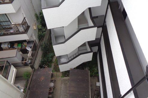 14.新宿 曙橋・屋上 共用部