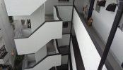 新宿 曙橋・屋上|マンション・外観・抜けが良い・共用部・エントランス・階段・廊下|東京