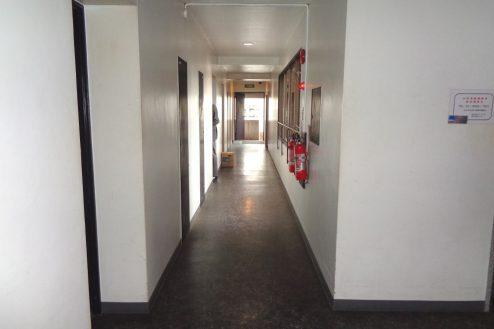 14.千駄ヶ谷・屋上|廊下