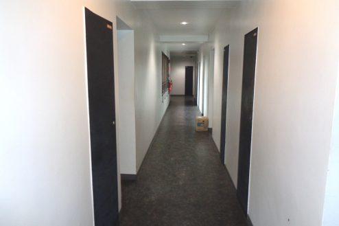 15.千駄ヶ谷・屋上|廊下