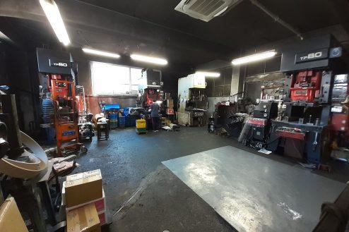 町工場・横浜市(3515) レトロ・古い機械・フォークリフト・外観