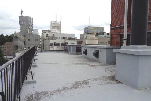 9.千駄ヶ谷・屋上|屋上