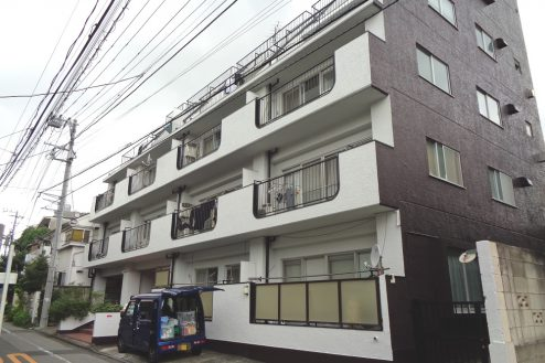 22.新宿 曙橋・屋上 外観