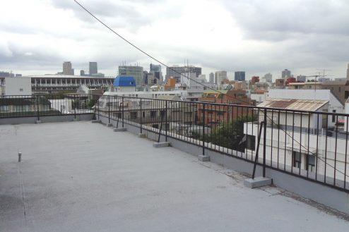 千駄ヶ谷・屋上|マンション・外観・共用部・抜けが良い・エントランス・新国立競技場|東京