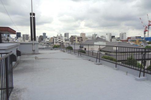 8.千駄ヶ谷・屋上|屋上