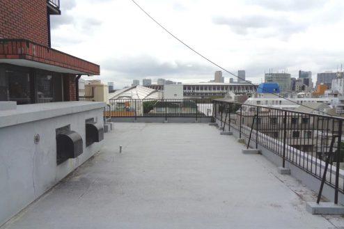 1.千駄ヶ谷・屋上|屋上