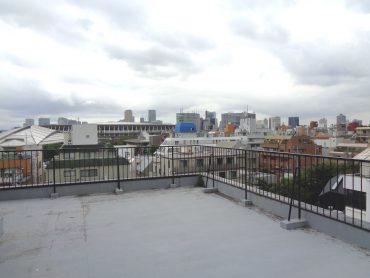 千駄ヶ谷マンション屋上・共用部|抜けが良い・外観・エントランス・新国立競技場|東京