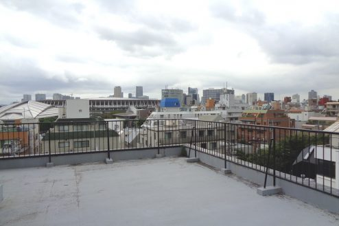 3.千駄ヶ谷・屋上|屋上