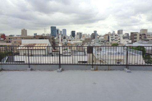 5.千駄ヶ谷・屋上|屋上