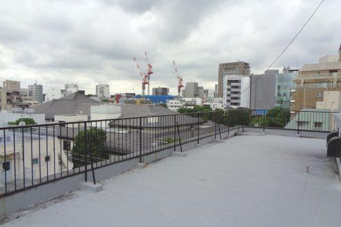 6.千駄ヶ谷・屋上|屋上